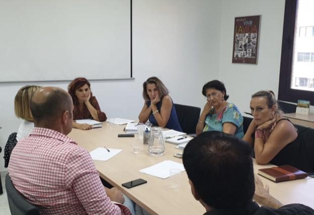 Reunión con la Directora General de Infancia y Conciliación
