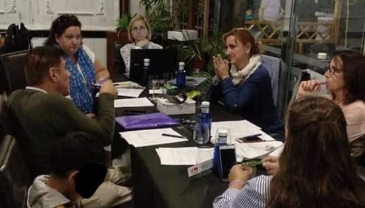 Reunión Federación de Asociaciones de Familias de Acogida y Colaboradoras de Andalucía