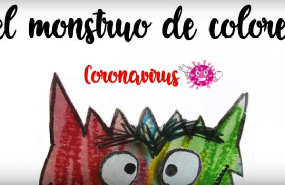 Cuento Monstruo de colores (coronavirus)