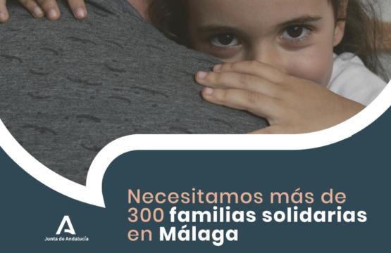 Málaga necesita más de 300 familias para acoger grupos de hermanos